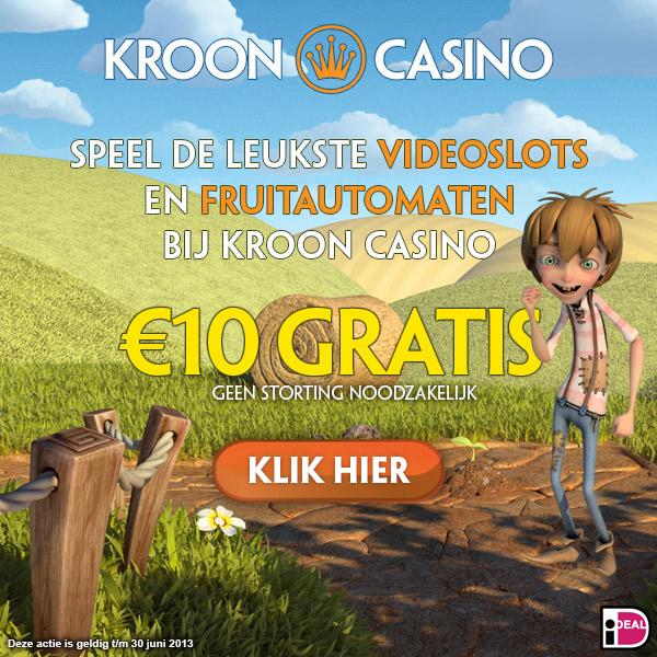 €10 gratis Bij kroon Casino
