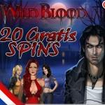 20 Extra gratis spins