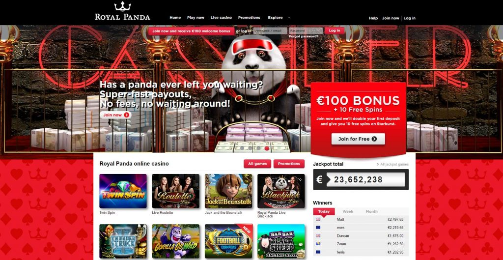 Screen RoyalPanda