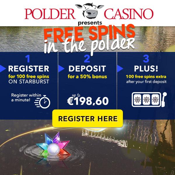 Nazomer actie met 200 Free Spins bij Polder Casino