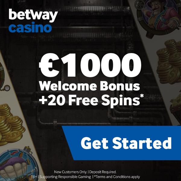 Betway geeft free spins en geldbonus!