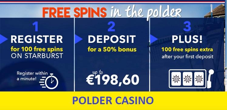 Polder Casino gaat door met bonussen!