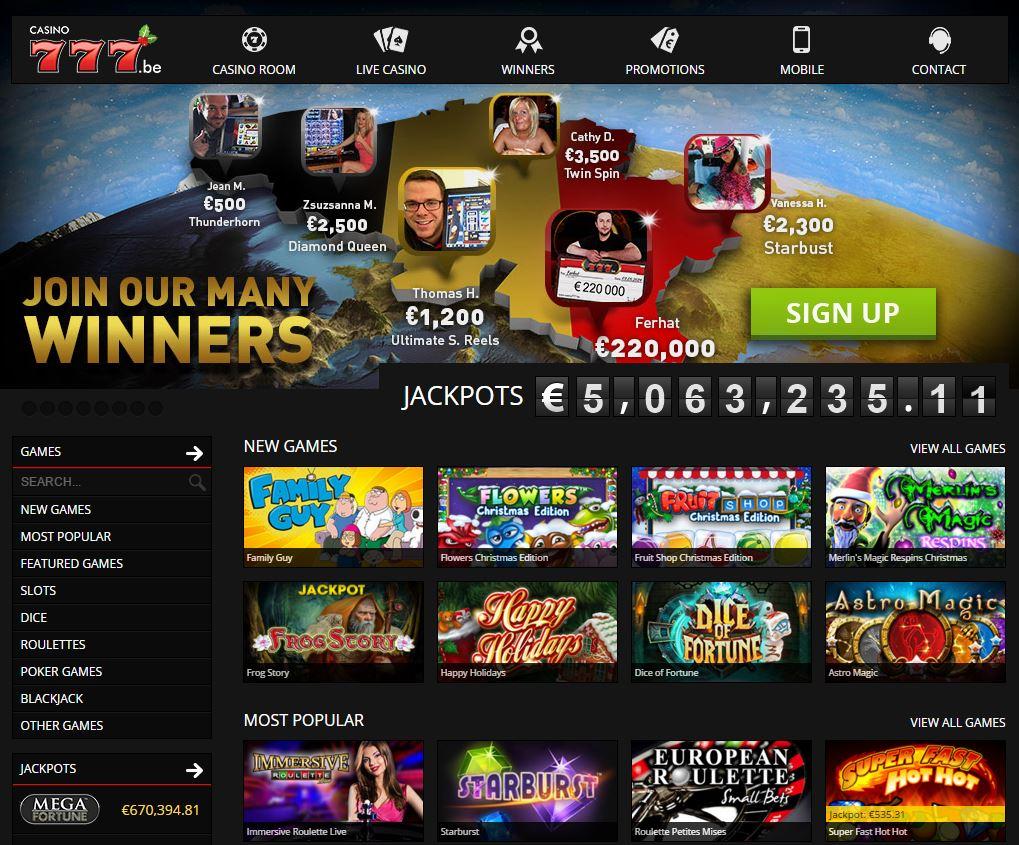 777 casino uitbetaling