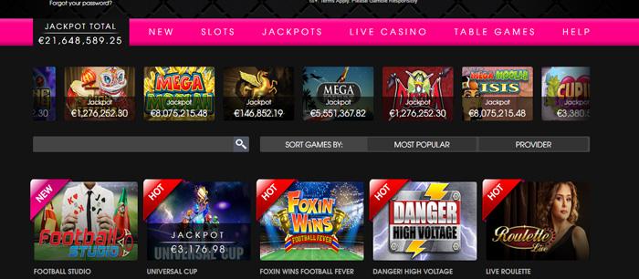 Screenshot Playgrand Casino