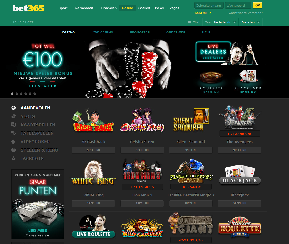 bet 365 sport casino vegas poker