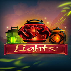 50 free spins op Lights slot Netent