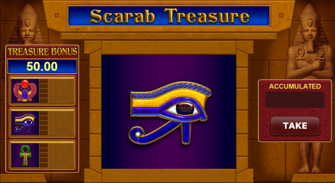 Scarab Treasure gokkast