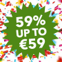 Klaver Casino geeft 59% bonus