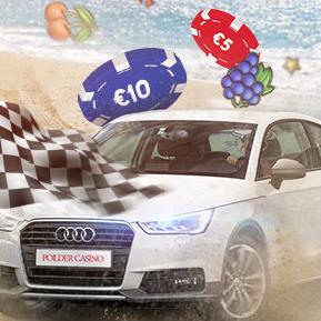 Win een Audi A1 bij Polder Casino