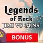 Legends of Rock casinobonus