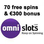 free spins bij Omnislots