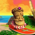 Extra draaien op Aloha slot