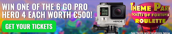 GO Pro Hero 4 camera winnen