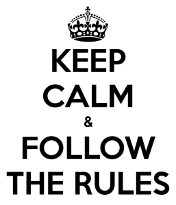 Keep calm and follow the bonus rules