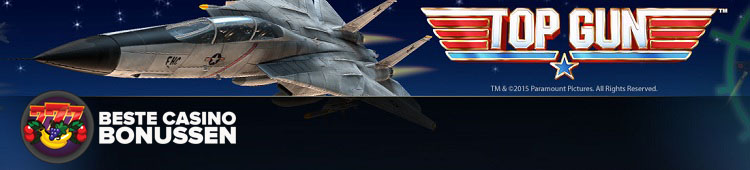 free spins op top gun bonus