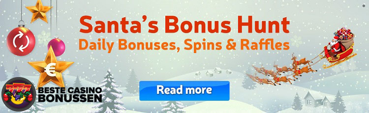 Florijn Casino Christmas Hunt bonus