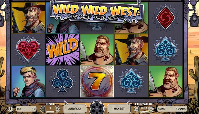 Wild Wild West The Great Train Heist Gameplay