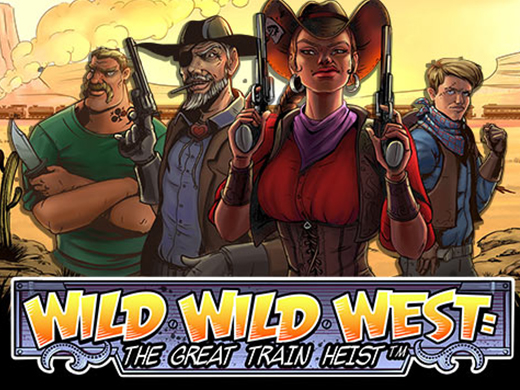 wild wild west the great train heist logo
