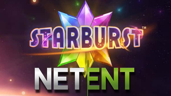 Starburst Netent logos
