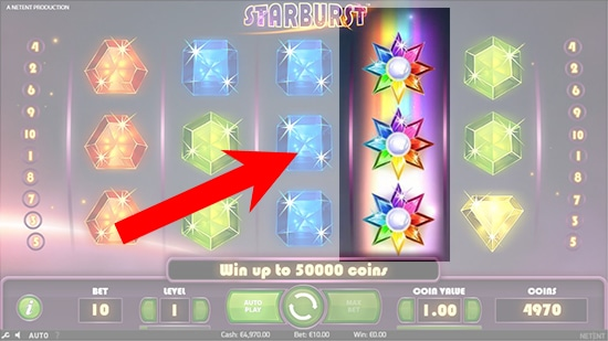 Starburst re spin