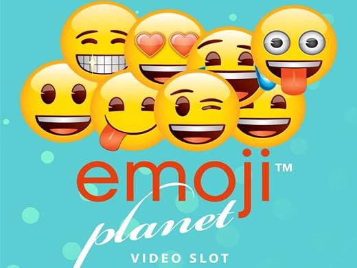 Emoji Planet Slot Logo