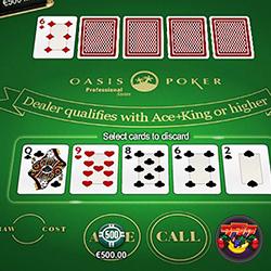 Caribbean Stud Poker Handwaardes