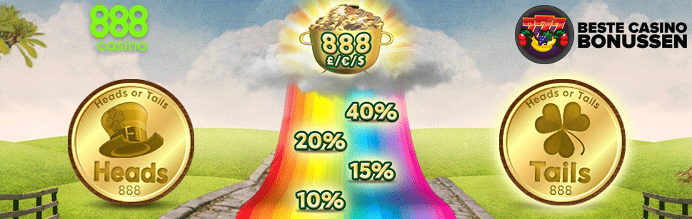 Kop of munt bonus 888 Casino