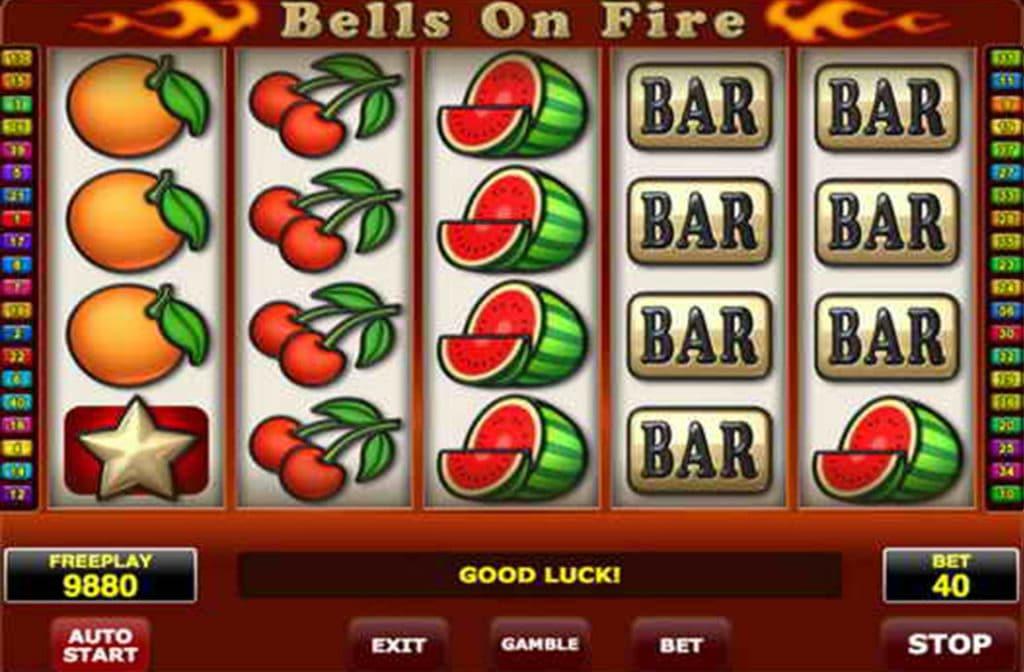 Fruitsymbolen bij Bells on Fire
