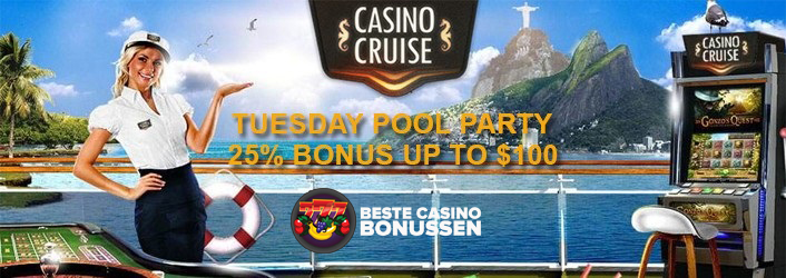 Pool Party bonus Casino Cruise