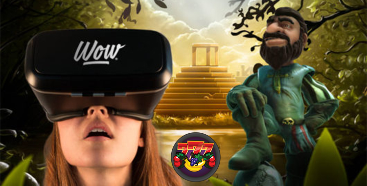 Virtual reality with Netent Gonzo's Quest