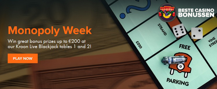Kroon Casino Monopoly week
