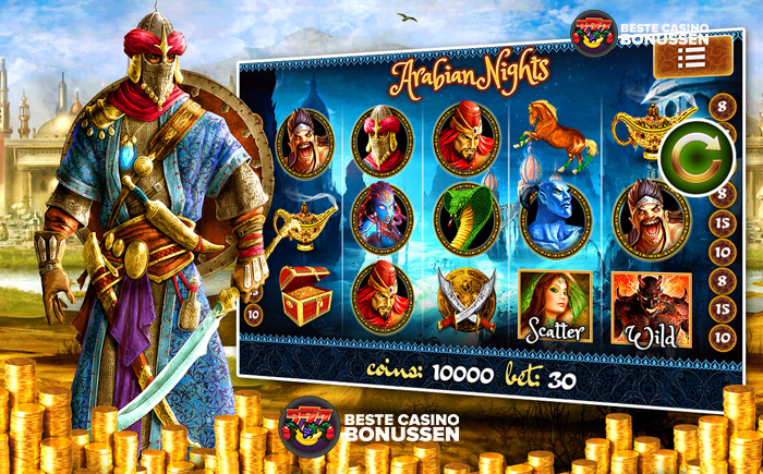 Arabian Nights Progressieve jackpot