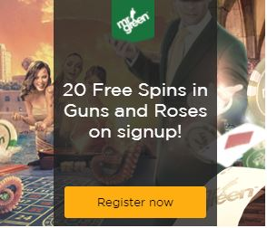 Free spins MrGreen