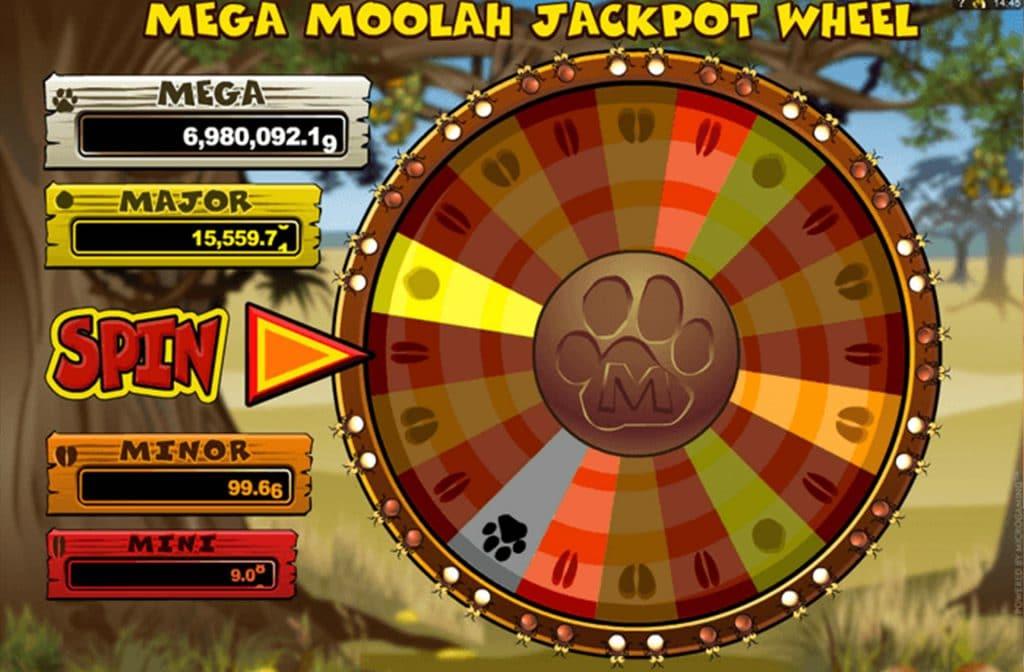 Het Rad van Fortuin voor de Jackpots