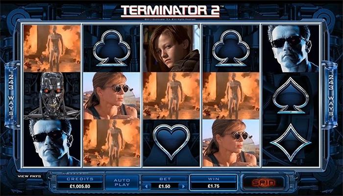 Terminator 2 Gameplay