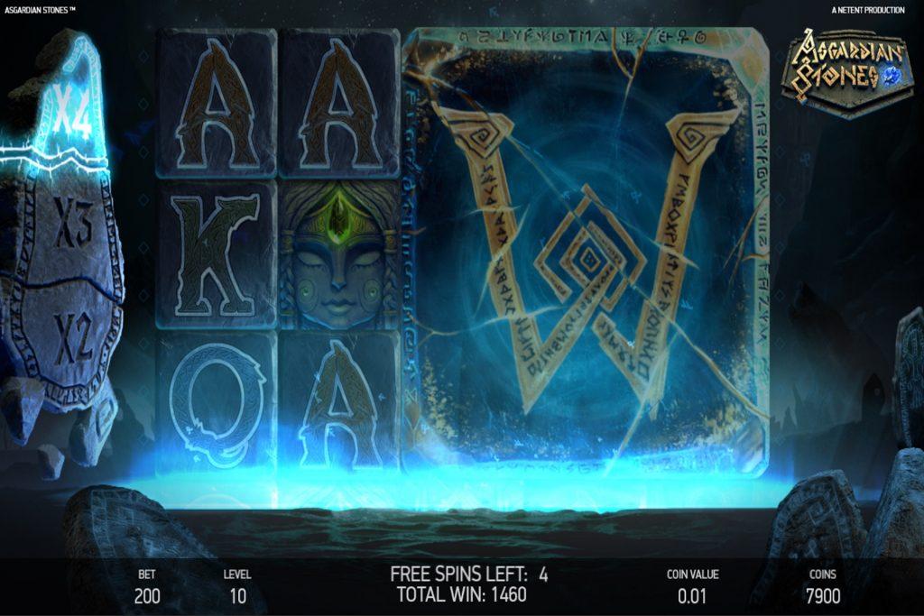 Asgardian Stones Wild Symbool