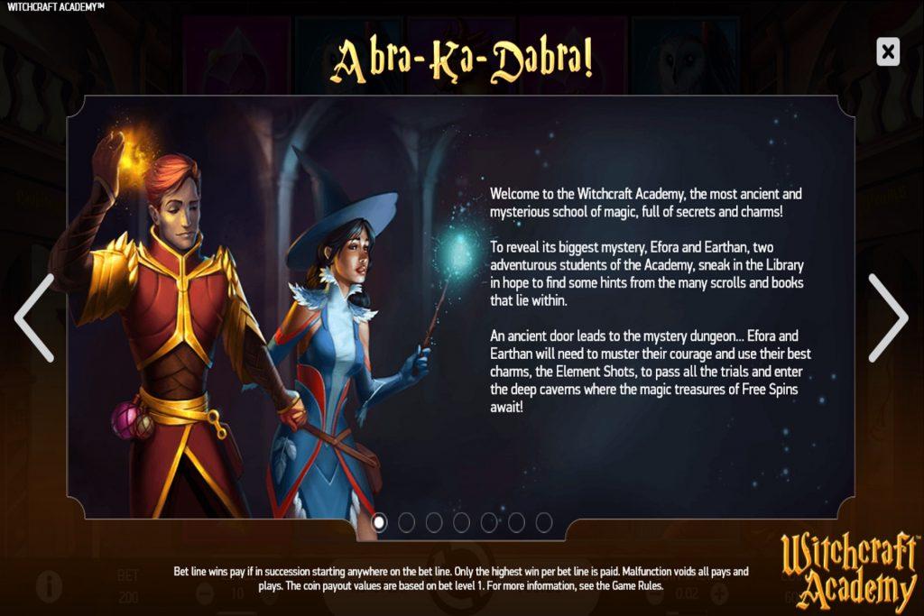 Verhaallijn Witchcraft Academy