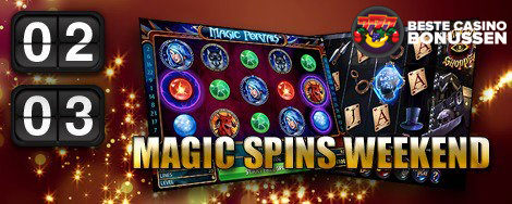Magic Spins weekend Omnislots