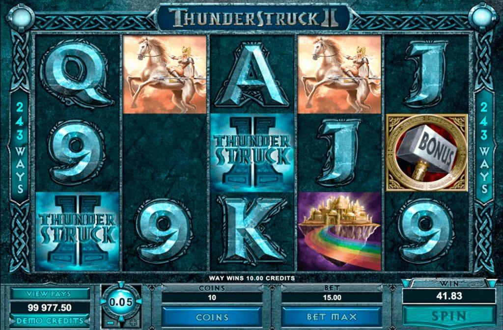Thunderstruck 2 Gameplay