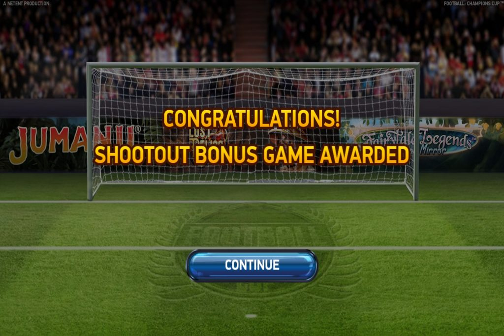 Football Champions Bonus Spel