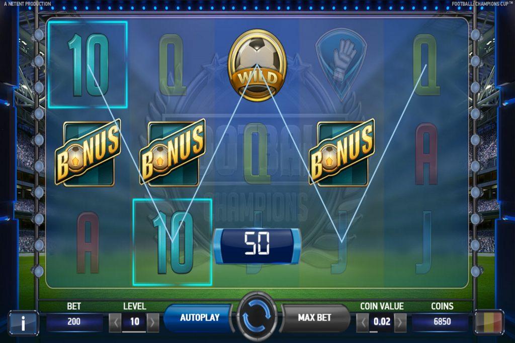 Bonus- en Wild Symbool