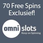 70 free spins exclusief bij Omnislots