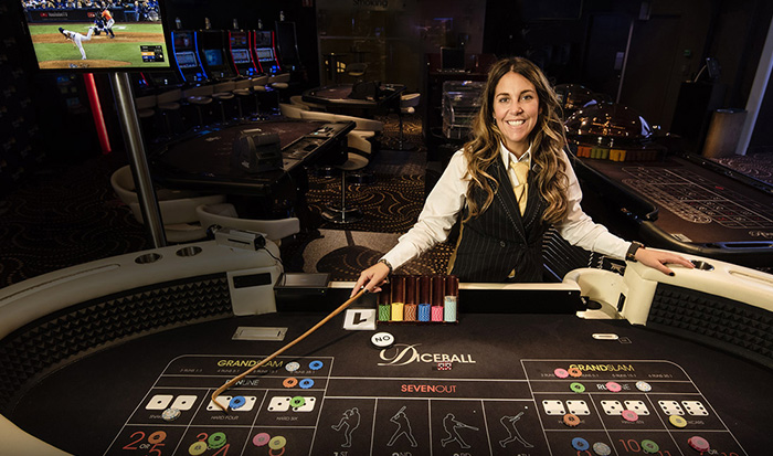 Diceball in Holland Casino