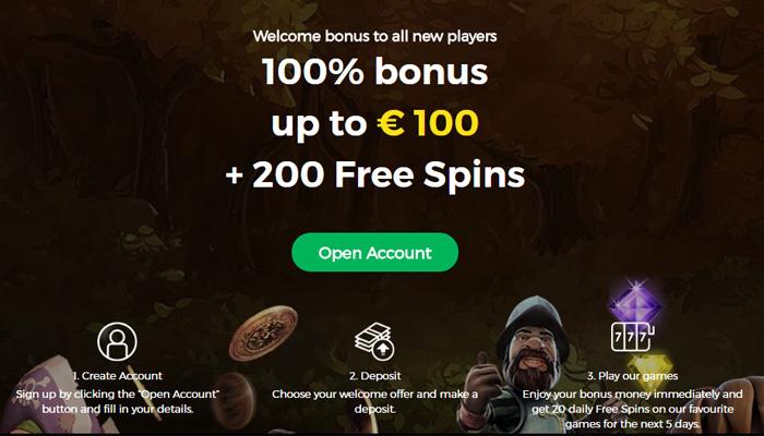 Welkomstbonus CasinoPop