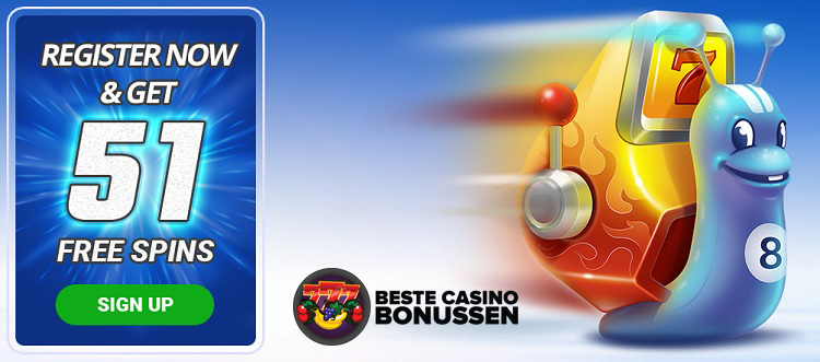 51 free spins zonder storten Turbo Casino