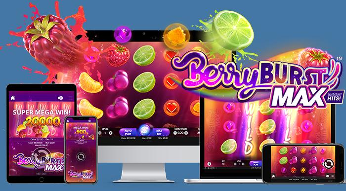 Berryburst™ op verschillende applicaties