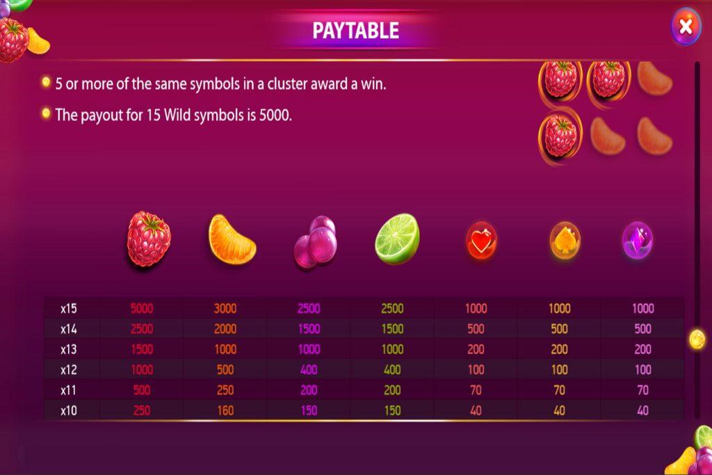 Berryburst ™ op verschillende applicaties