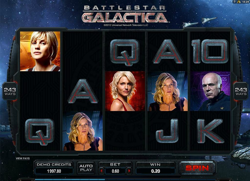 Battlestar Galactica Spelen