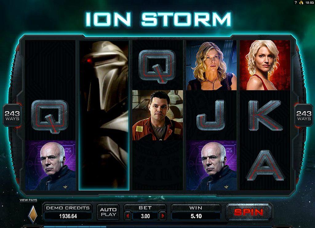 ION Storm met Uitklapbare Wild