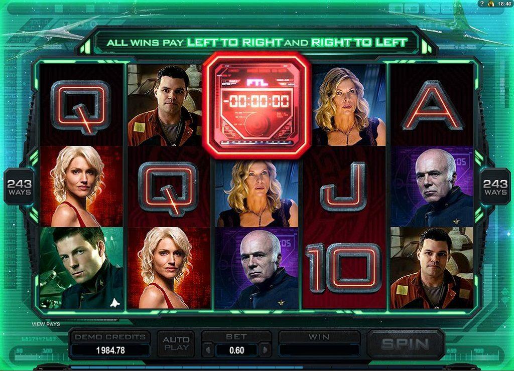 Battlestar Galactica Videoslot